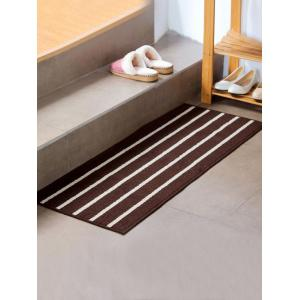 Stripe Design Water Absorbent Bath Mat