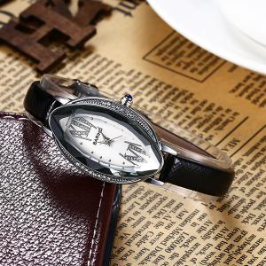 Vintage Oval Dial Roman Numerals Watch -