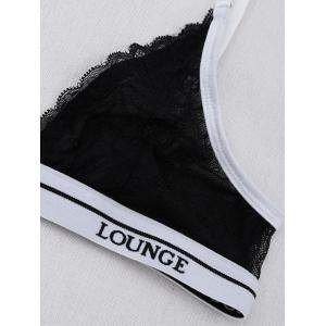 Lounge Wireless Lace Bra With T-Back -