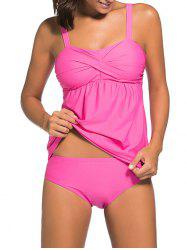 Push Up Twist Tankini Set