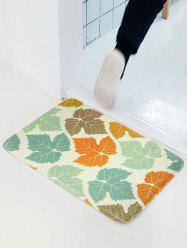 Maple Leaf Soft Absorbent Antislip Bathroom Entrance Carpet