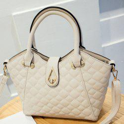 PU Leather Quilted Handbag