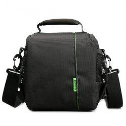 Zippers Nylon Pockets Camera Bag
