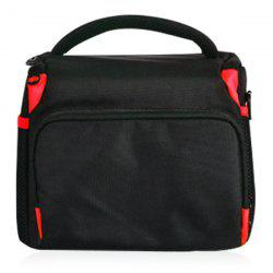 Color Block Nylon Zippers Camera Bag