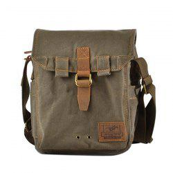 Strap Canvas Messenger Bag