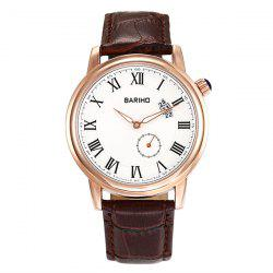 PU Leather Roman Numerals Vintage Watch