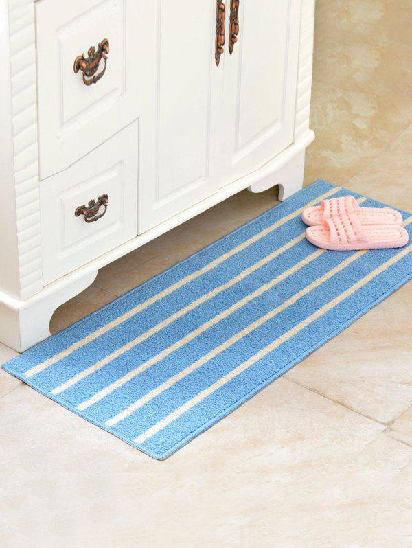 Outfit Stripe Design Water Absorbent Large Bath Mat