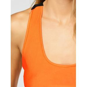 Racerback Sports Bra with Jogger Sweatpants -