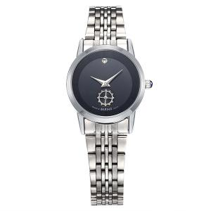 Gear Analog Stainless Steel Watch - Black