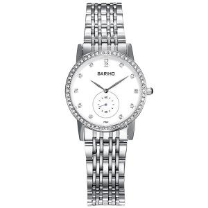 Stainless Steel Rhinestone Watch