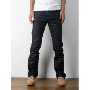 Embroidered Cat's Whisker Narrow Feet Jeans - Black - 29