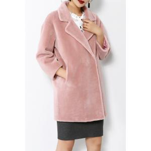 Drop Shoulder Coat In Cashmere