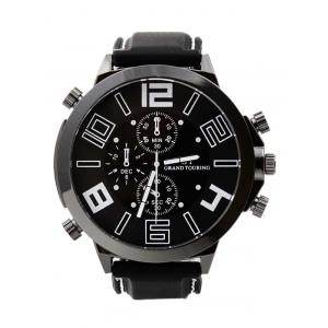 Outdoor Rubber Analog Number Watch