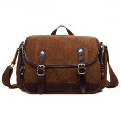 Buckle Straps Canvas Camera Bag