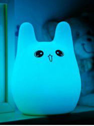 Cartoon Color Changing Silica Gel Touch LED Atmosphere Night Light
