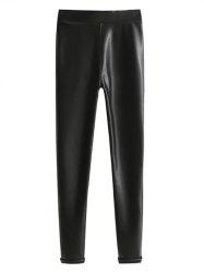 Skinny PU Leather Leggings