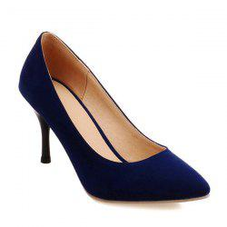 Stiletto Heel Pointed Toe Suede Pumps
