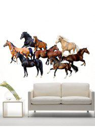 Vinyl Horses Environmental DIY Wall Art Stickers