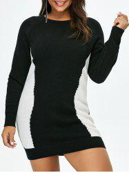 Mini Plus Size Bodycon Sweater Dress