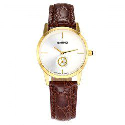 Vintage Gear Artificial Leather Watch