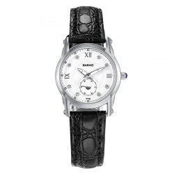 Rhinestone Artificial Leather Quartz Vintage Watch