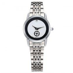 Gear Analog Stainless Steel Watch