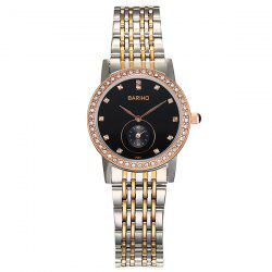 Rhinestone Stainless Steel Watch