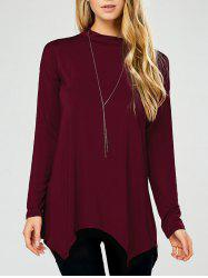 Long Sleeve Ribbed Top