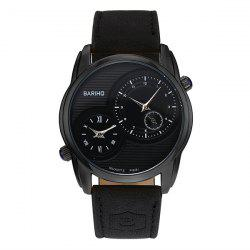 Faux Leather Vintage Quartz Watch