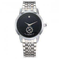 Stainless Steel Vintage Analog Quartz Watch
