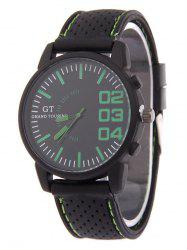 Outdoor Rubber Analog Watch -