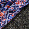 Tribal Bikini Boho Swimwear Totem Print Chiffon Round Beach Throw Scarf -