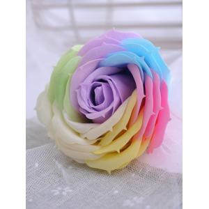 Colorful Light Rose Soap Festival Gift Wishing Bottle -