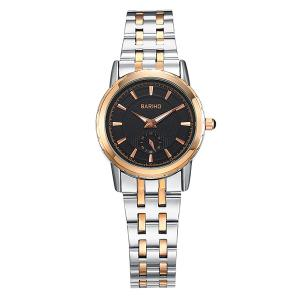 Analog Quartz Stainless Steel Vintage Watch - Rose Gold And Silver