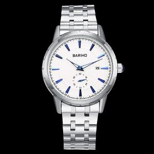 Stainless Steel Analog Watch - WHITE