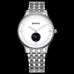 Stainless Steel Band Business Quartz Watch -