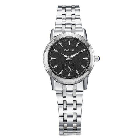 Analog Quartz Stainless Steel Watch - Silver