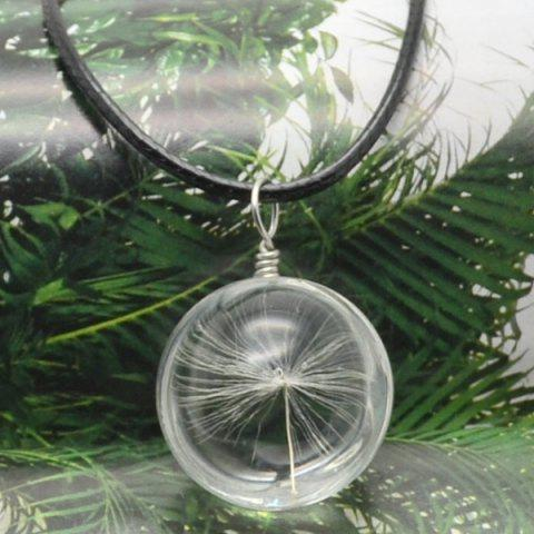 Outfit Dandelion Glass Ball Necklace