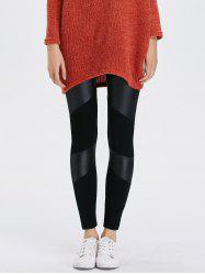 Bodycon Faux Leather Leggings