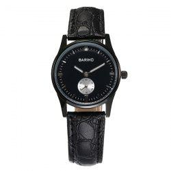 Quartz Artificial Leather Watch