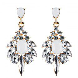 Geometric Fake Crystal Drop Earrings