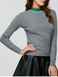High Neck Sweater -