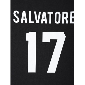Streetwear Jewel Neck Salvatore 17 Tee -