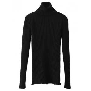 Ribbed Turtleneck Jumper