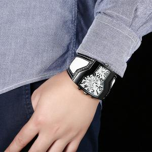 Vintage PU Leather Wrist Watch -