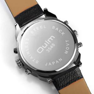 Big Dial Plate Wrist Quartz Watch - BLACK