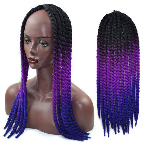 Discount Ombre Braids Dreadlock Synthetic Hair Extension - COLORFUL  Mobile