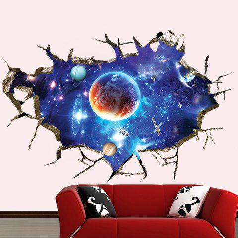 Buy 3D Space Planet Living Room Decoration Wall Stickers - COLORMIX  Mobile