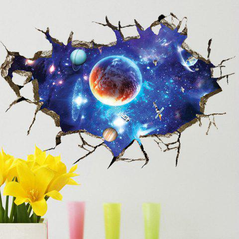Best 3D Space Planet Living Room Decoration Wall Stickers - COLORMIX  Mobile