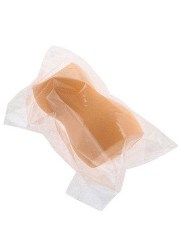 Affordable Cut Gourd Water Swellable Makeup Sponge - ORANGE  Mobile